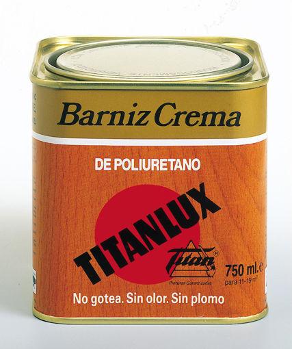 Imagen de BARNIZ CREMA SATINADO 750ML