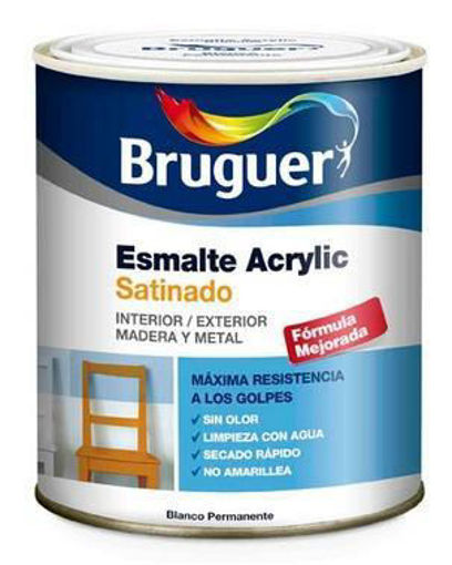 Imagen de BRUGUER ACRILICO SATINADO 250ML