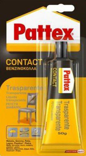Imagen de COLA CONTACTO TRANS.PATTEX 50GR