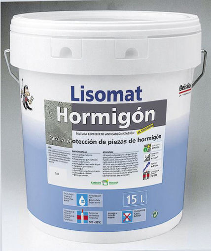 Imagen de LISOMAT HORMIGON GRIS 15L