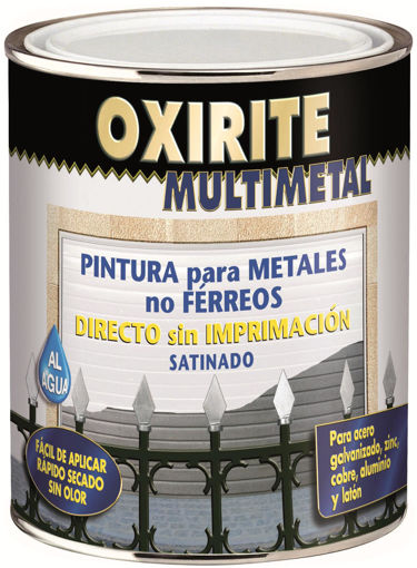 Imagen de OXIRITE MULTIMETAL AL AGUA 750ML