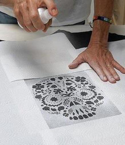 Imagen de PLANTILLA STENCIL LA PAJARITA