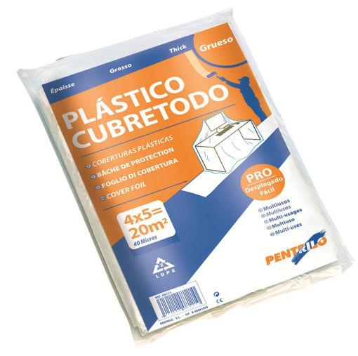 Imagen de PLASTICO CUBRETODO GRUESO 5x4