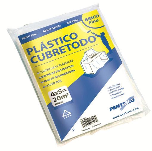 Imagen de PLASTICO CUBRETODO STANDAR 5x4