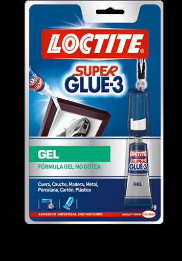 Imagen de SUPER GLUE-3 GEL 3GR
