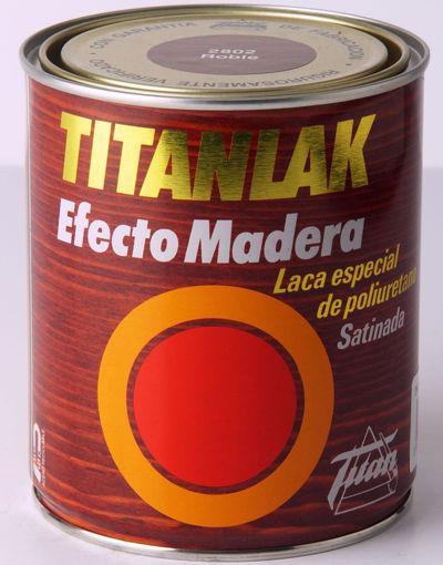Imagen de TITANLAK EFECTO MADERA 750ML